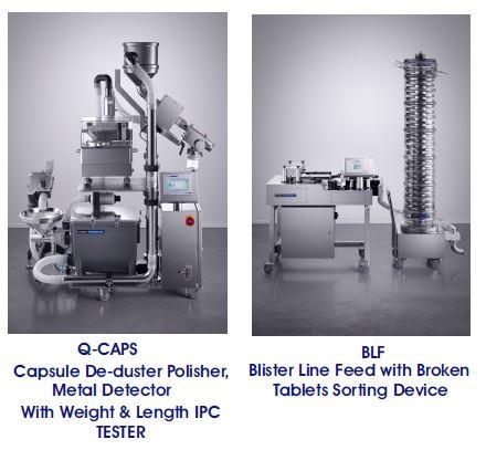 Q-Caps & Blister Line