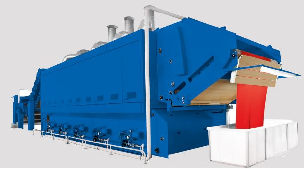 Santex Finishing machine